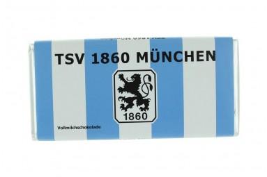"""Schokoladen-Tafel """"TSV 1860 München"""""""