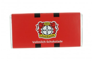 """Schokoladen-Tafel """"TSV Bayer 04 Leverkusen"""""""