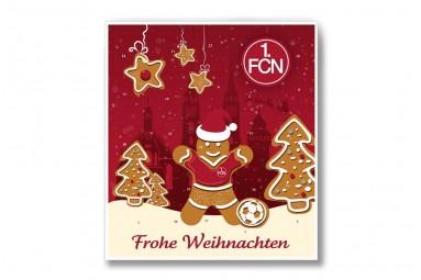 Premium Schoko-Adventskalender '1. FC Nürnberg' + Extras