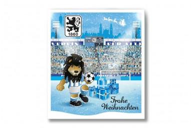 """Premium Schoko-Adventskalender """"TSV 1860 München"""" + Extras"""