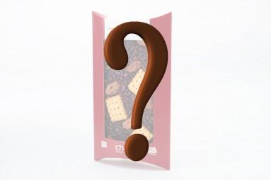 Zufalls B-Ware: Eine Schokoladen-Tafel