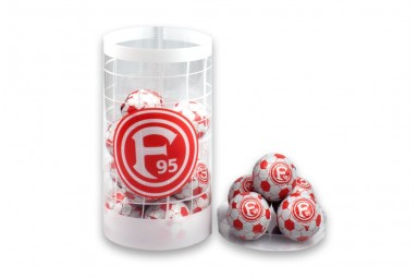 "Schokoladen-Fußbälle ""Fortuna Düsseldorf"""