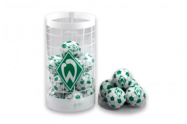 """Schokoladen-Fußbälle """"SV Werder Bremen"""""""