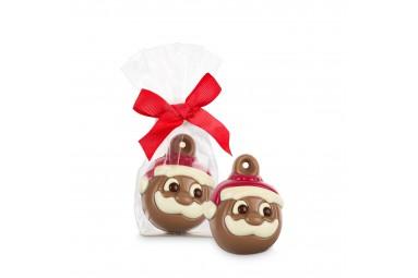 """Belfine """"Santa Face"""" Weihnachtsbaumkugel"""