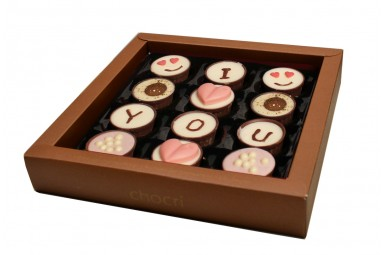 "chocri ""Big Love"" Pralinen-Cups"