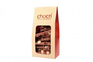 """chocri """"Vollmilch"""" Bruch-Schokolade"""