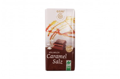 "GEPA Bio Schokolade ""Caramel Salz"""