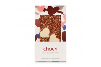 chocri 'Mein Goldschatz' Schokoladentafel