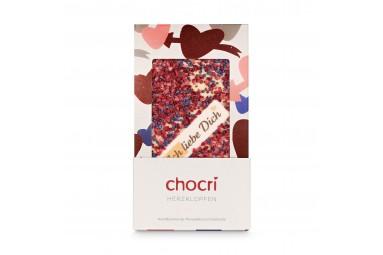 chocri 'Herzklopfen' Schokoladentafel