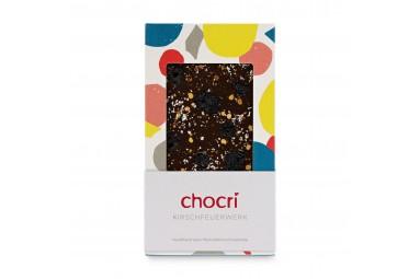 chocri 'Kirschfeuerwerk' Schokoladentafel