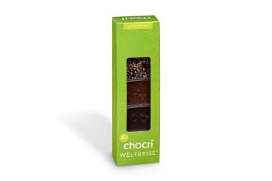 "chocri kleine Weltreise® ""Vegan"" Mini-Schokoladentafeln"