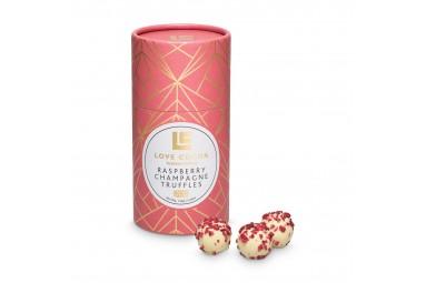 Love Cocoa Handmade Raspberry Champagne Truffles