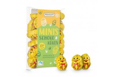 Confiserie Riegelein Mini Osterküken aus Edel-Vollmilchschokolade in Geschenkbox