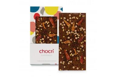 Vollmilchschokolade mit Chili 'Superheld'