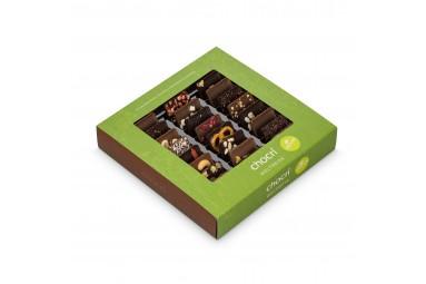 chocri Weltreise® 'Vegan' Mini-Schokoladentafeln