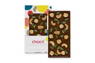 Vegane Schokolade mit Nüssen 'Vegolade® Nusstraum'
