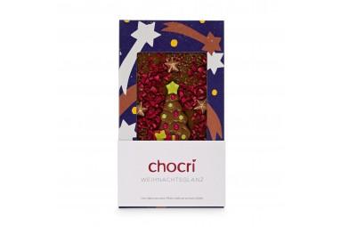 chocri 'Weihnachtsglanz' Weihnachtsschokoladentafel