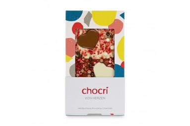 """chocri """"Von Herzen"""" Schokoladentafel"""