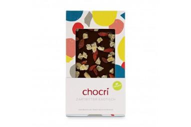 """chocri """"Zartbitter exotisch"""" Schokoladentafel"""