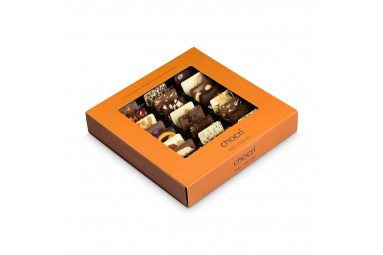 "chocri ""Weltreise"" Mini-Schokoladentafeln"