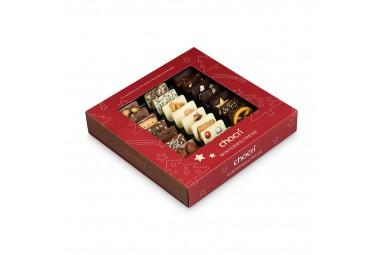 "chocri ""Winterweltreise"" Mini-Schokoladen-Tafeln"