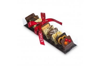 "chocri ""Kleine Weltreise®"" Mini-Schokoladentafeln"