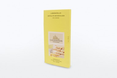 """Confiserie Lauenstein """"Gefüllte Schokolade - Limoncello"""" Schokoladen-Tafel"""