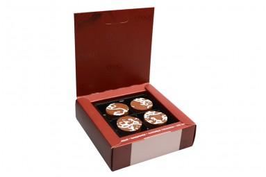 """Erdbeer Mascarpone"" Pralinen-Box"
