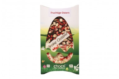 "chocri ""Fruchtige Ostern"" Schokoladen-Tafel"