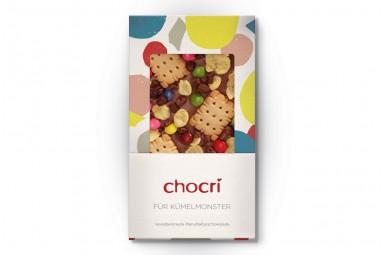 """chocri """"Für Krümelmonster"""" Schokoladen-Tafel"""
