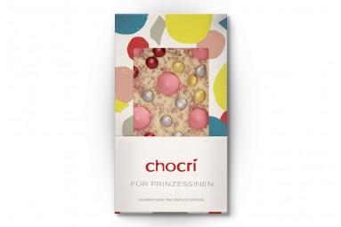 """chocri """"Für Prinzessinnen"""" Schokoladen-Tafel"""