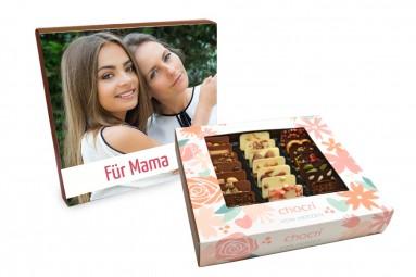 """chocri """"Von Herzen"""" Mini-Schokoladen-Tafeln mit individueller Verpackung"""