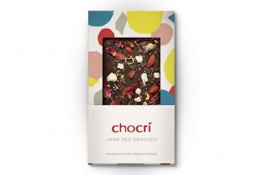 """chocri """"Jahr des Drachen"""" Superfood-Schokolade"""