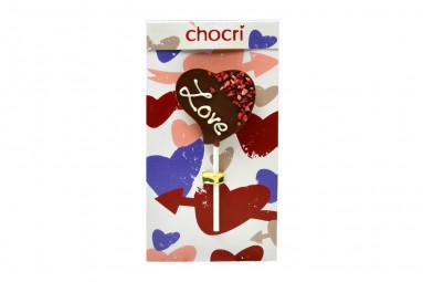 "chocri ""Love"" Schokoladen-Lolly"