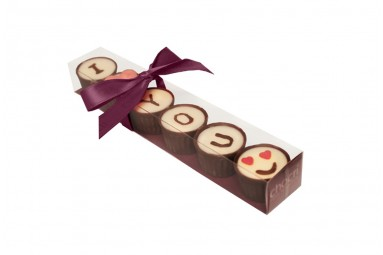 "chocri ""Love"" Pralinen-Cups"