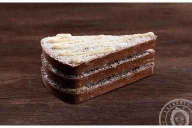 """Laurence """"Milchschokolade mit Kokos & Vanille-Biskuit"""" Schokoladen-Tafel"""