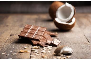 "Laurence ""Milchschokolade mit Kokos"" Schokoladen-Tafel"