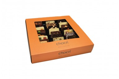 "chocri ""Weltreise"" Mini-Schokoladen-Tafeln"