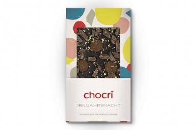 """chocri """"Neujahrsnacht"""" Schokoladen-Tafel"""