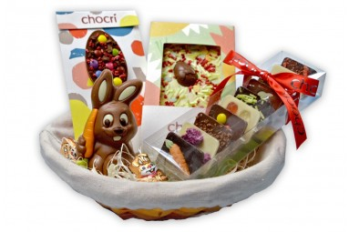 """chocri """"Osterfreude"""" Schokoladen-Geschenk-Set"""