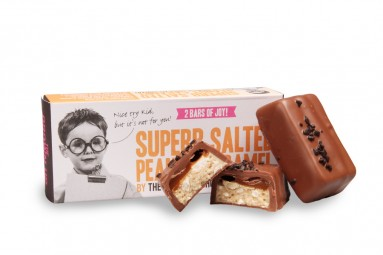 "The Grown Up Chocolate Company ""Superb Salted Peanut Caramel"" Schokoladen-Riegel"