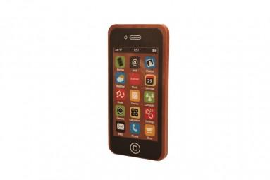 Schwarzes Schokoladen-Smartphone