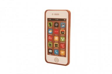 Weißes Schokoladen-Smartphone
