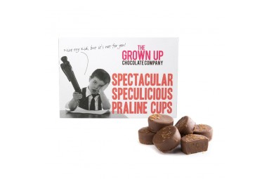 "The Grown Up Chocolate Company ""Spectacular Speculicious Praline Cups"" Pralinen"