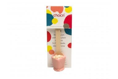 """chocri """"Erdbeer - Weiße Blüten"""" Trink-Schokolade"""