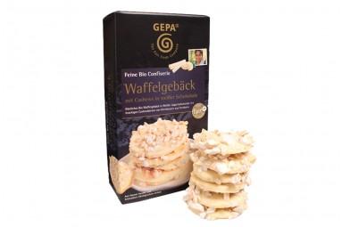 """GEPA """"Cashews in weißer Schokolade"""" Waffelgebäck"""