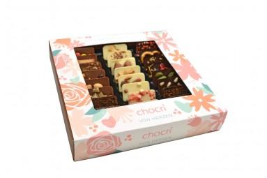 """chocri """"Von Herzen"""" Mini-Schokoladen-Tafeln"""
