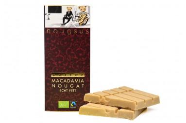 "Zotter ""Nougsus - Macadamia Nougat - echt fett"" Schokoladen-Tafel"