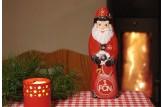 Mit dem Schoko-Weihnachtsmann des '1. FC Nürnberg' wird's erst richtig festlich