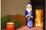 Mit dem Schoko-Weihnachtsmann des 'FC Schalke 04' wird's erst richtig festlich